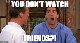 friends, What's one embarrassing thing you were caught?