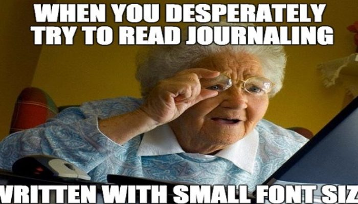 Journaling, the community of people invested in the health of their brains